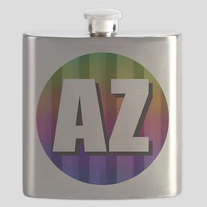 AZ Arizona Rainbow Flask
