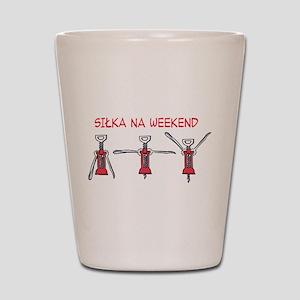 Silka na Weekend Shot Glass