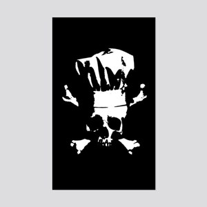 Chef Scalawag Sticker (Rectangle)
