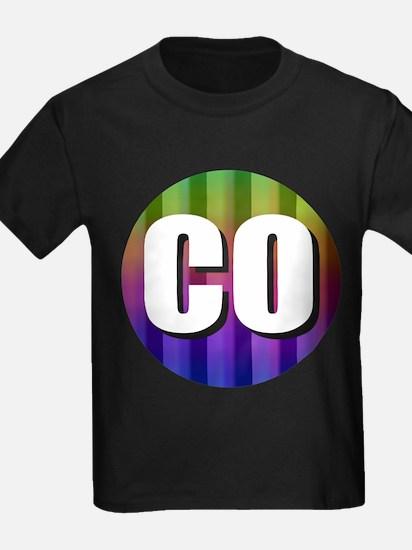Co Colorado Rainbow T-Shirt