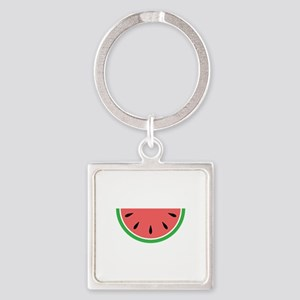 Watermelon Slice Keychains