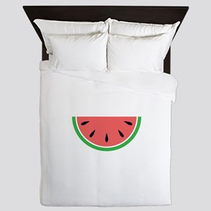 Watermelon Slice Queen Duvet