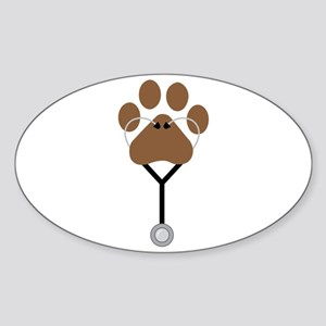Vet Stethescope Sticker