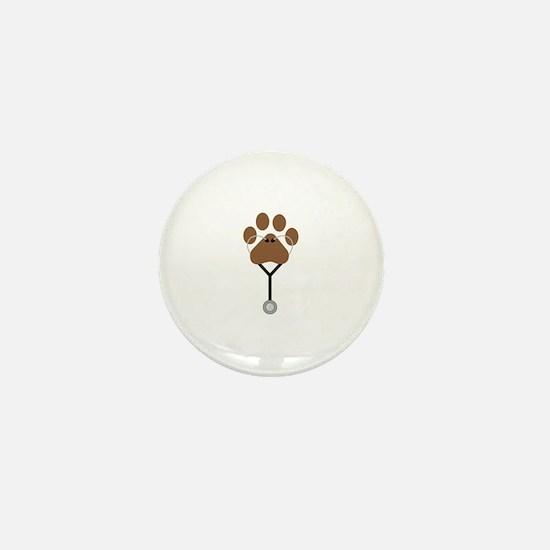 Vet Stethescope Mini Button