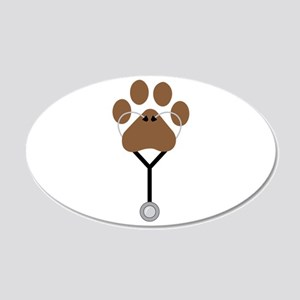 Vet Stethescope Wall Decal