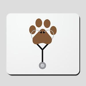Vet Stethescope Mousepad