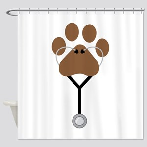 Vet Stethescope Shower Curtain