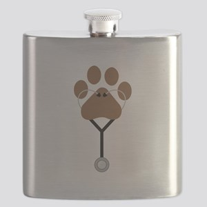 Vet Stethescope Flask