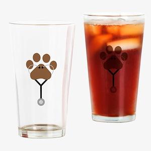 Vet Stethescope Drinking Glass