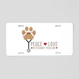 Veterinary Medicine Aluminum License Plate