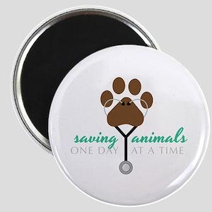 Saving Animals Magnets