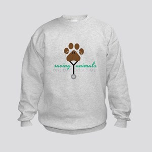 Saving Animals Sweatshirt