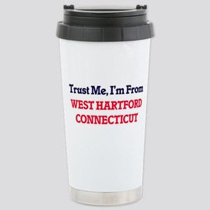Trust Me, I'm from West Stainless Steel Travel Mug