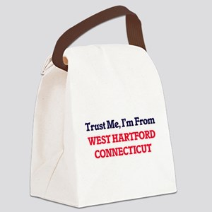 Trust Me, I'm from West Hartford Canvas Lunch Bag