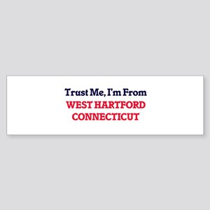 Trust Me, I'm from West Hartford Co Bumper Sticker