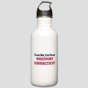 Trust Me, I'm from Wes Stainless Water Bottle 1.0L