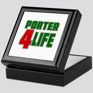 Porter For Life Keepsake Box