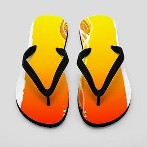 b74844362522ef Burning Solid Electric Guitar Flip Flops