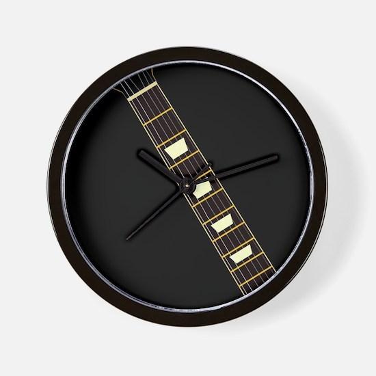 Electric Guitar Neck Wall Clock
