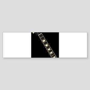 Electric Guitar Neck Bumper Sticker