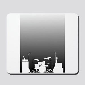Live Band Poster Mousepad