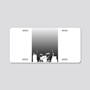 Live Band Poster Aluminum License Plate