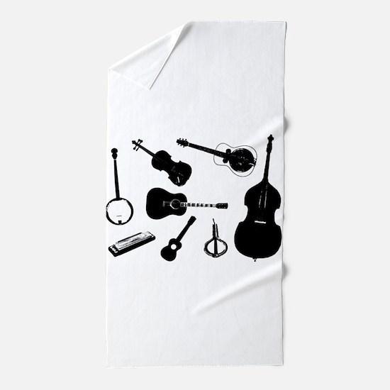 Bluegrass Beach Towel