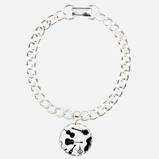 Bluegrass Charm Bracelet, One Charm