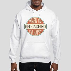 happy geocacher Hooded Sweatshirt