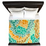 Shapes Beach King Duvet