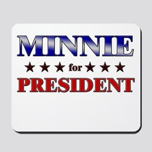 MINNIE for president Mousepad