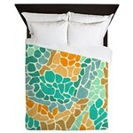 Shapes Beach Queen Duvet