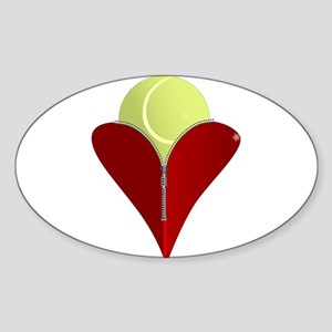 Love Tennis Sticker