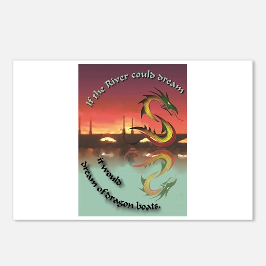 DragonRiverDreaming Postcards (Package of 8)