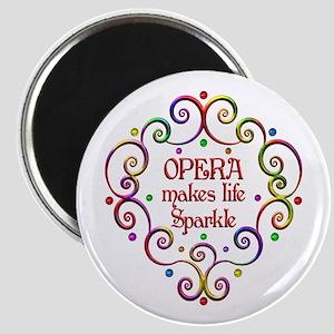 Opera Sparkles Magnet