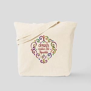 Opera Sparkles Tote Bag