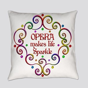 Opera Sparkles Everyday Pillow
