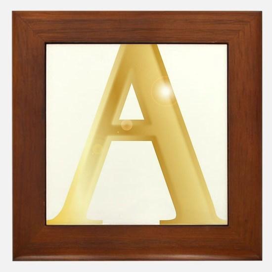 Alpha Framed Tile