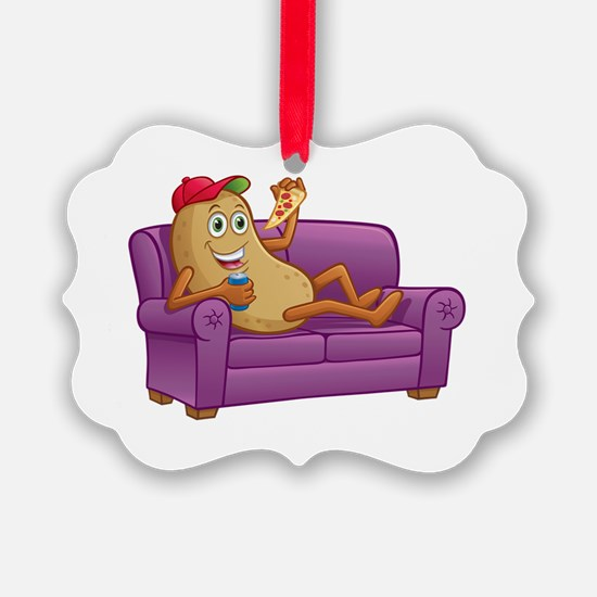 Cute Couch potato Ornament