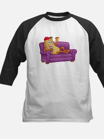 Couch Potato Relaxing Baseball Jersey