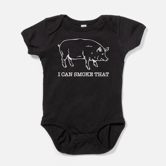 I Can Smoke That Funny Pig Baby Bodysuit