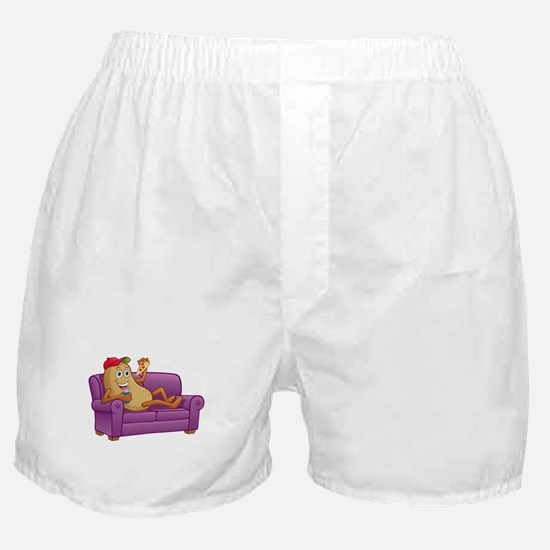 Couch Potato Relaxing Boxer Shorts