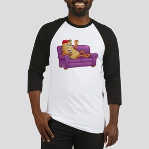 Couch Potato Relaxing Baseball Jersey