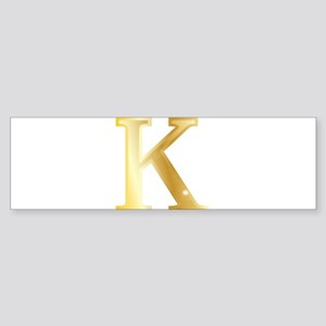 Kappa Bumper Sticker