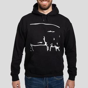 I'd Smoke That Funny Pig Hoodie (dark)