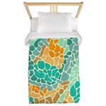 Shapes Beach Twin Duvet Cover