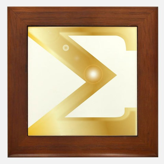 Sigma Framed Tile