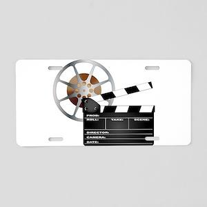Movie Aluminum License Plate