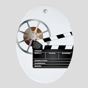 Movie Oval Ornament