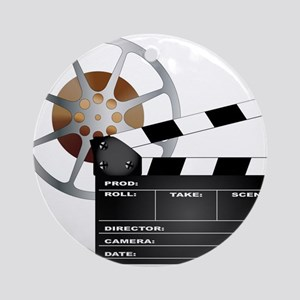 Movie Round Ornament